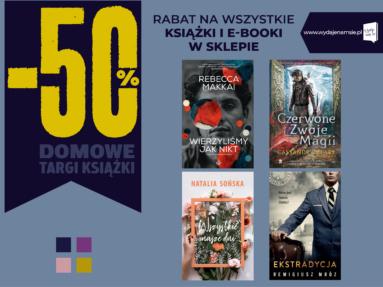 Domowe Targi Książki z Grupą Wydawnictwa Poznańskiego!